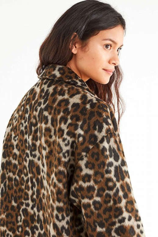 Le Fashion Blog Under 200 Affordable Budget Friendly Leopard Print Coat Via Urban Outfitters