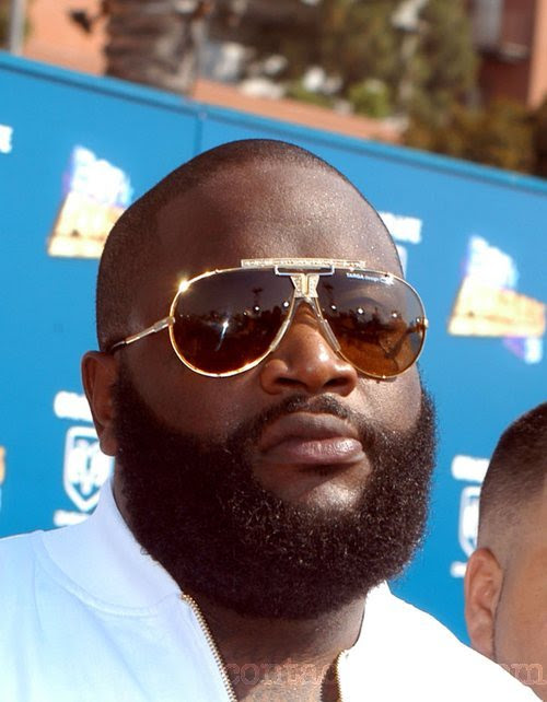 rick ross beard. I THINK THEY ARE BROTHERS!