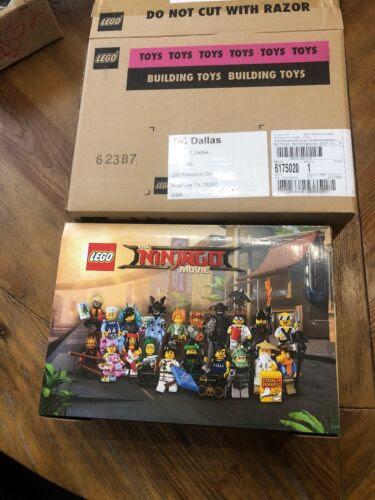 Lego New 71019 Ninjago Movie Series Sealed Box Of 60 Minifigures Figures Case Bau Konstruktions Minifiguren