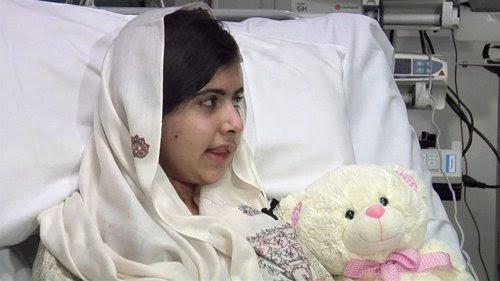 Malala se somete a una nueva operación en la cabeza