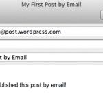 publicar por email