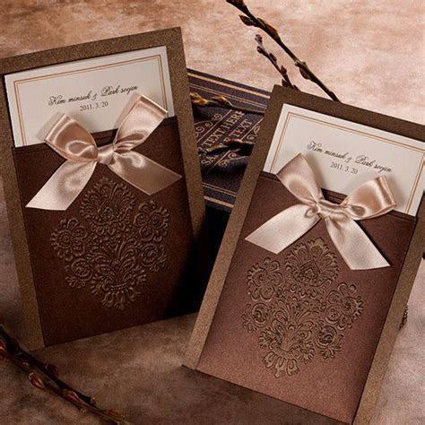 Best 25  Brown wedding invitations ideas on Pinterest
