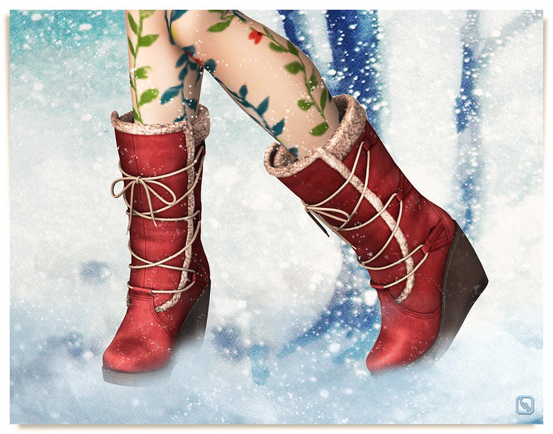 Shoetopia 2013: Snowy Bootied.