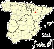 Where is Zaragoza? - Donde Esta Zaragoza?