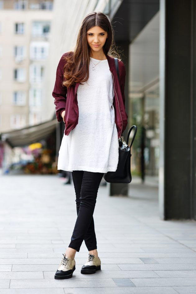trendy outfits with oxfords to copy this fall  fashionsy