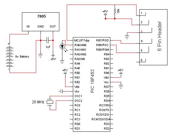 Pickit 3 Circuit Diagram