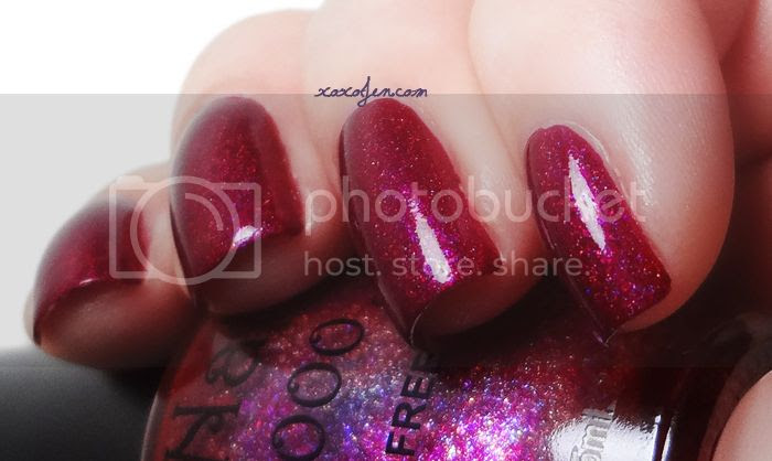 xoxoJen's swatch of NailNation3000 Once Bitten