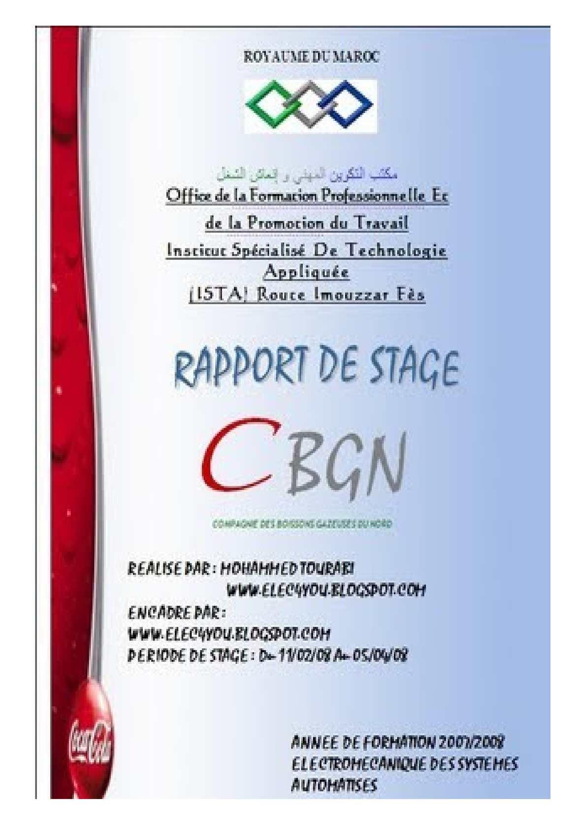 Dessus de lit: Rapport de stage comptabilité maroc