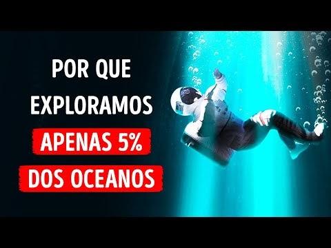 Não Sabemos o Que Está se Escondendo em 95% do Oceano