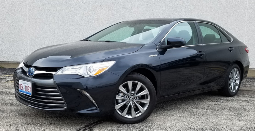 Test Drive 2015 Toyota Camry Hybrid Se The Daily Drive ...