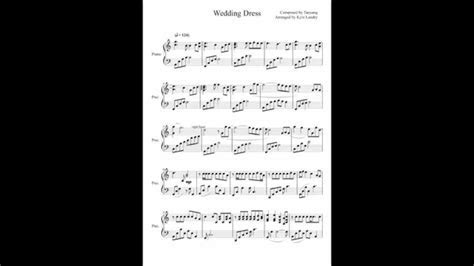 Wedding Dress  Taeyang   Kyle Landry Cover (piano with