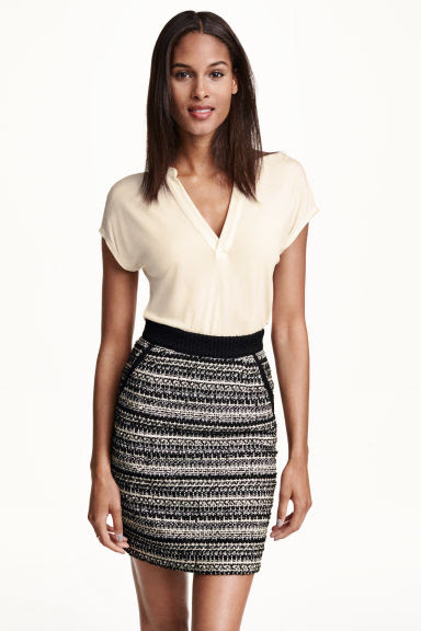 pencil skirt tweed trends autumn-winter 2015/2016