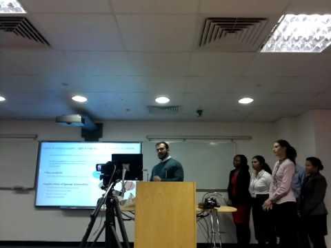 MBA strategic last presentation London UK