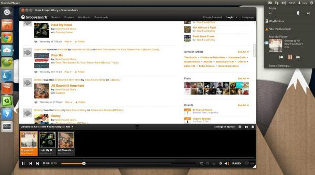 Nuvola no Ubuntu (Foto: Reprodução)