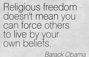 Religious Freedom Quotes