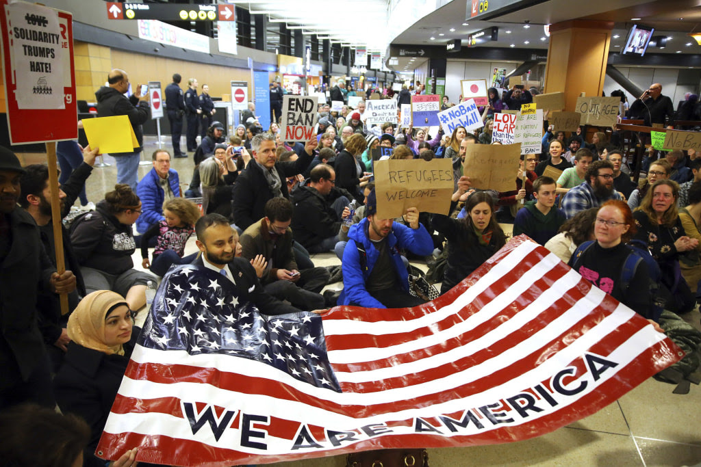 Image result for Airport protests