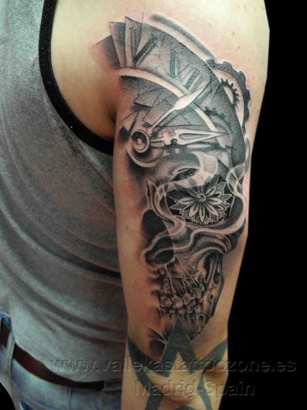 Images Of Calavera Tattoo Forearm Rock Cafe
