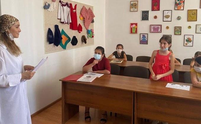 Всельском поселении Сагопши Ингушетии провели антитеррористическую беседу для школьников