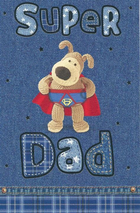 Boofle Super Dad Father's Day Card   Cards   Love Kates