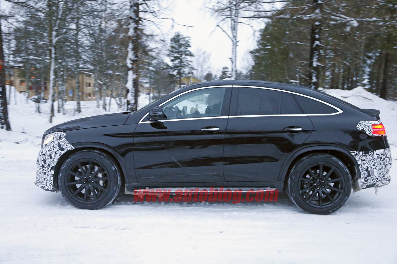 Almost Undisguised Mercedes-AMG GLE Coupe Caught on Cam ...