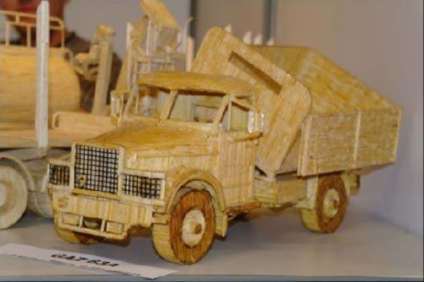 1721 Impressive Matchsticks Vehicles (20 photos)