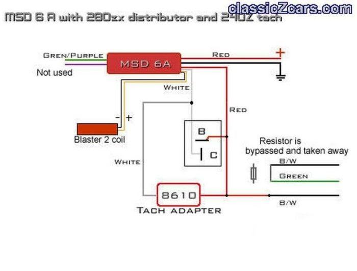 Msd Wiring Diagram 280zx
