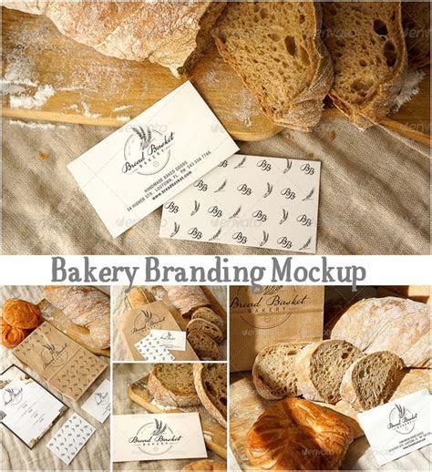 Bakery branding mockup   Free download