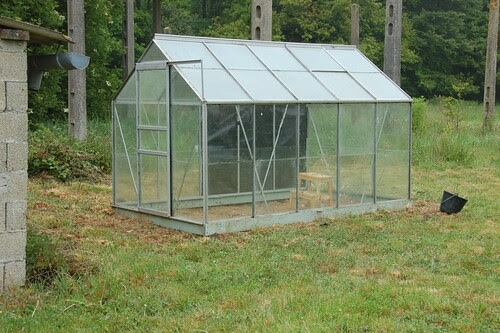 Completed green house
