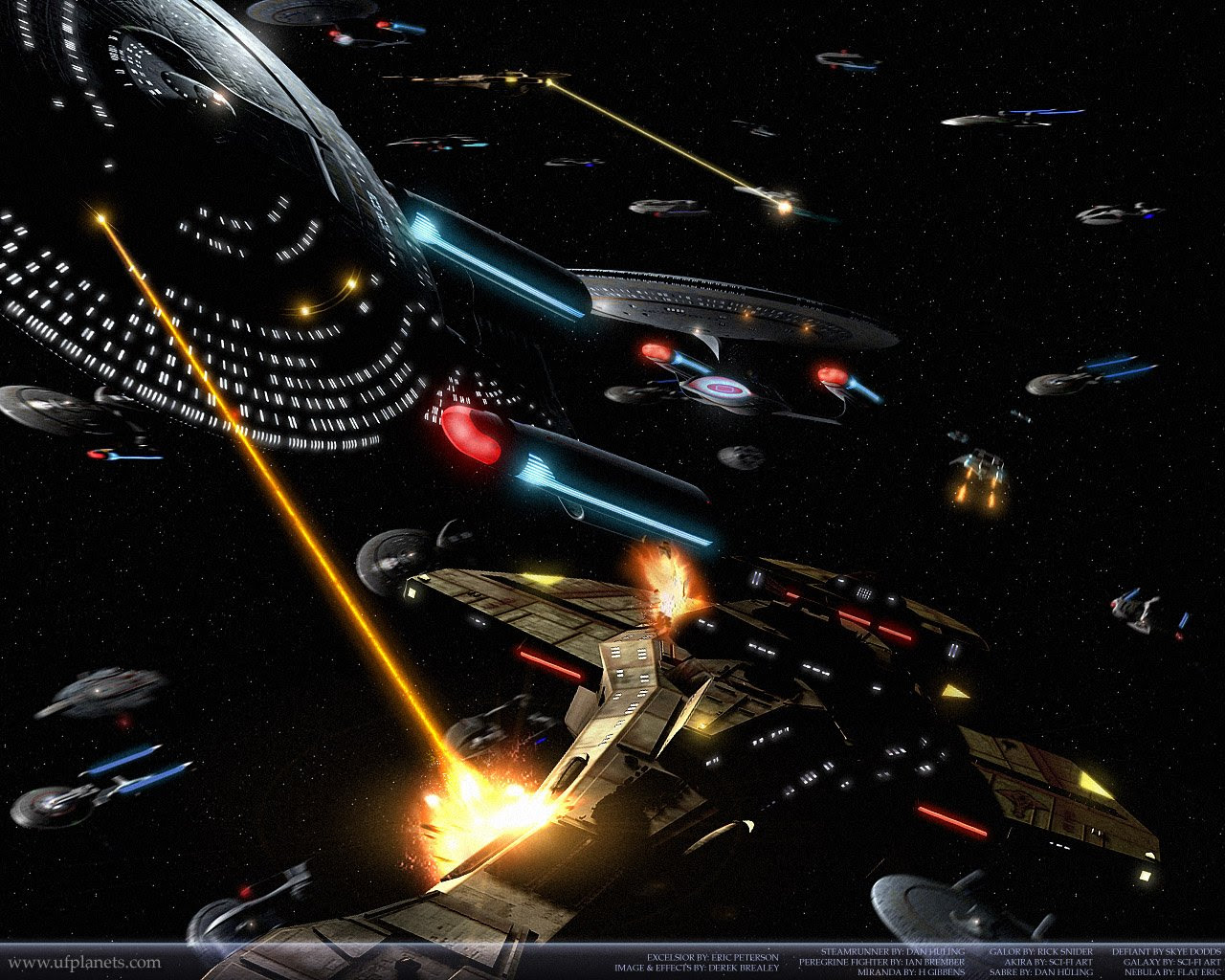 Star Trek Ships Of War Battles In Space