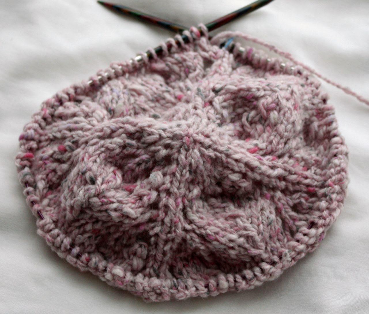 Pink Granite Blob 1