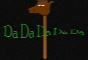 is the logo of Dadaist Profesional