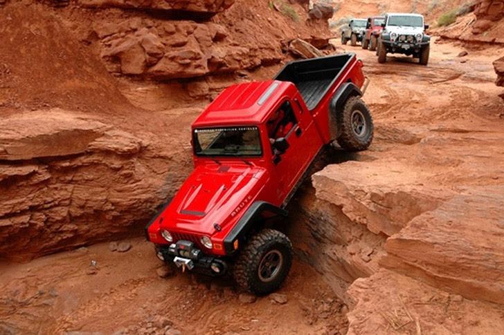 Jeep Wrangler Pickup Coming in 2015 - autoevolution