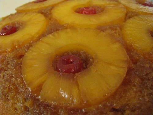 Crushed Pineapple Upside Down Cake Using Cake Mix