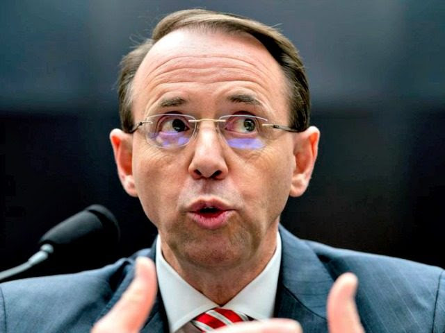Image result for Breaking: Rod Rosenstein Refuses To Turn Over Subpoenaed Memos – Backs Out Of Thursday's Congressional Hearing