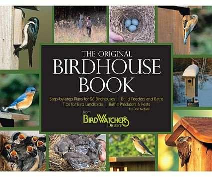Original Birdhouse  Book  Plans For Building  26 Bird  Houses