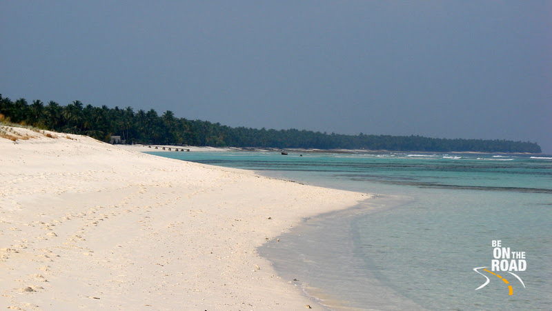 Beach Line View of Kadmat Island, Lakshadweep, India