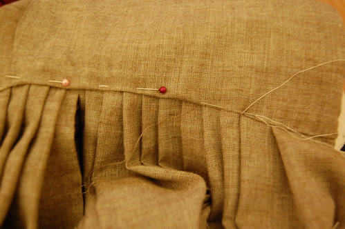 Making a robe a l'anglaise 30