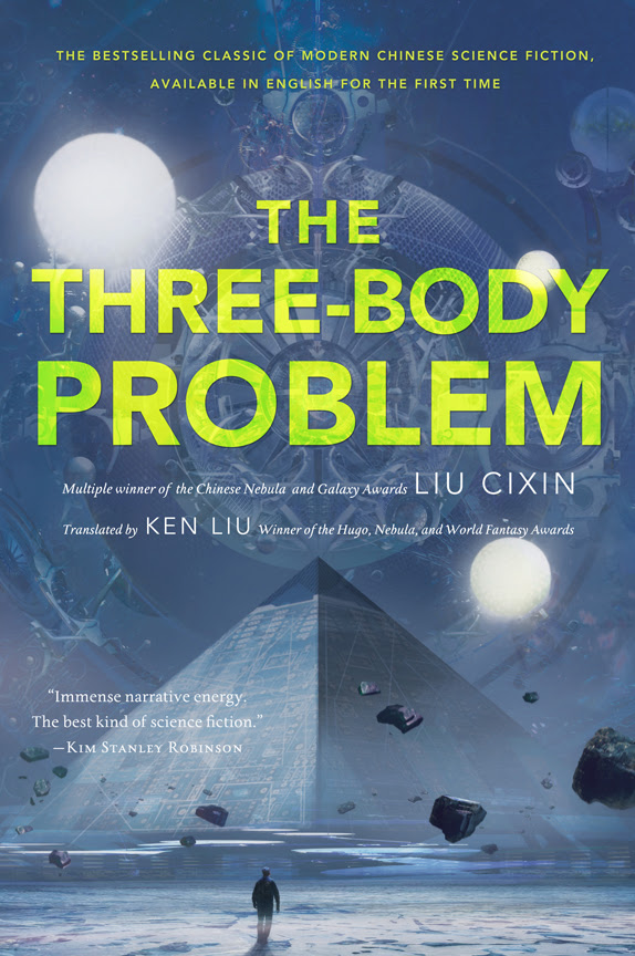 Book cover of The Three-Body Problem from Tor Press