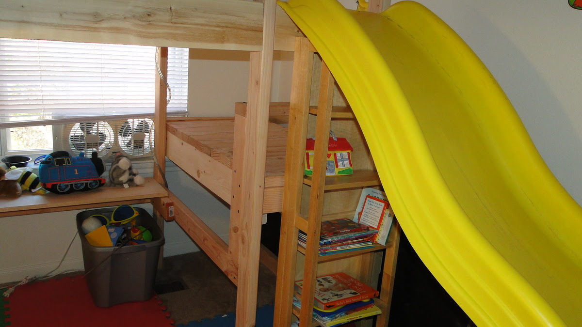 Double Camp Loft bed | Do It Yourself Home Projects from Ana White