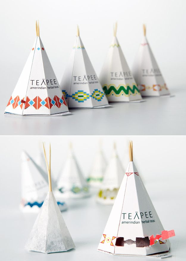 Teapee Tea Bags / 34 Coolest Food Packaging Designs Of 2012