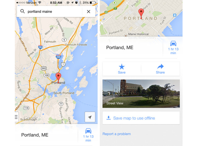 How To Save Offline Maps In Google Maps 3 0
