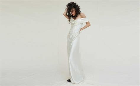 Miley Cyrus wore a Vivienne Westwood bridal gown