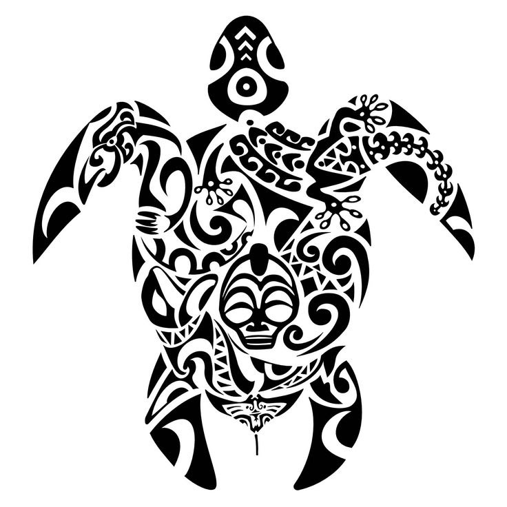 Hawaiian Turtle Drawing At Getdrawingscom Free For Personal Use