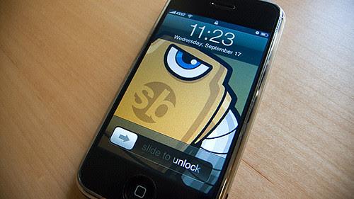 iPhone Sketchbot