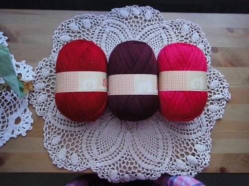 Wollmeise lace-bag, set 1