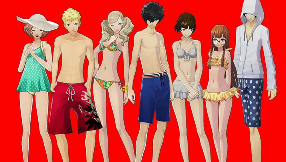 PSA: Persona 5's free swimsuit DLC is out now screenshot