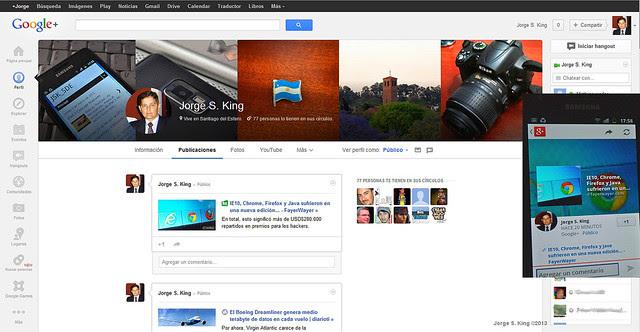 Google+ Nueva Imagen