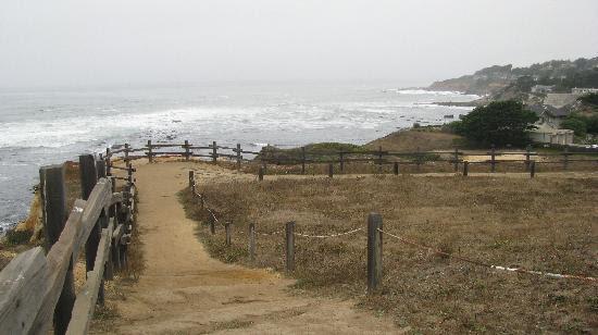 Moss Beach, CA: scenic pathway