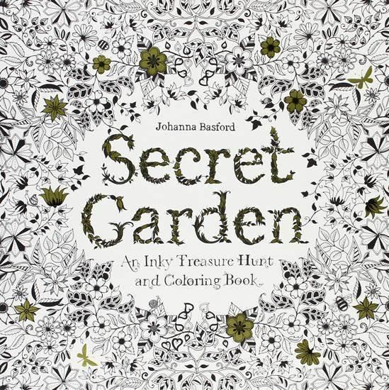 ひみつの花園の英語版がオシャレ過ぎベストセラー1位の塗り絵
