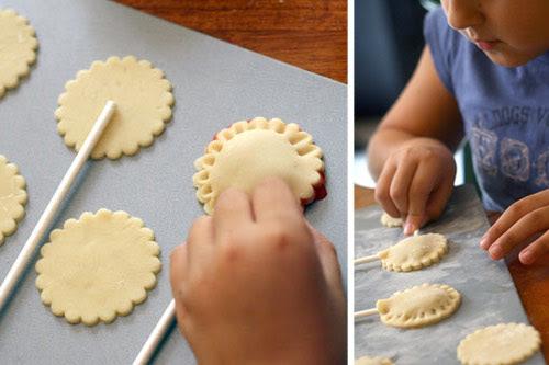 Pie Pops, pre-baked